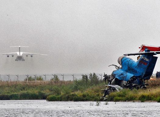 Экипаж упавшего под Ярославлем Як-42 не имел права подниматься в воздух