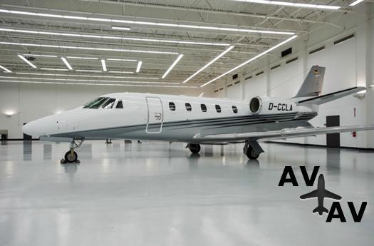 Парк Challenge Aero Ukraine пополнился Cessna Citation XLS+