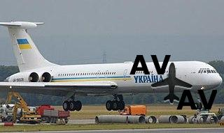 Президент Украины летает на старом самолёте и ждёт новый аэробус.