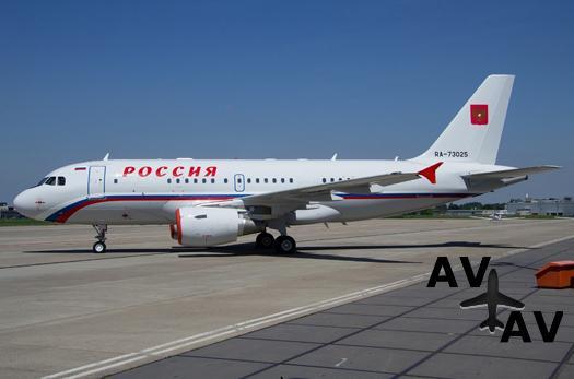 СЛО «Россия» получил первый Airbus ACJ319
