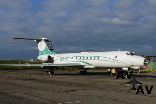 В центре Минска ржавеет vip-самолет Юлии Тимошенко