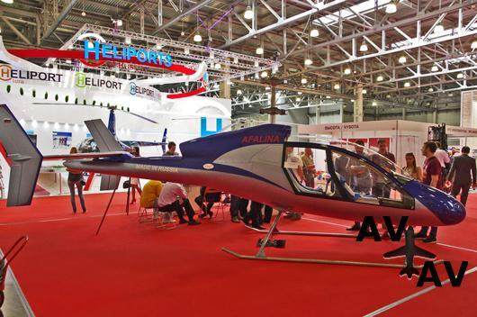 В России представлен сверхлегкий скоростной вертолет